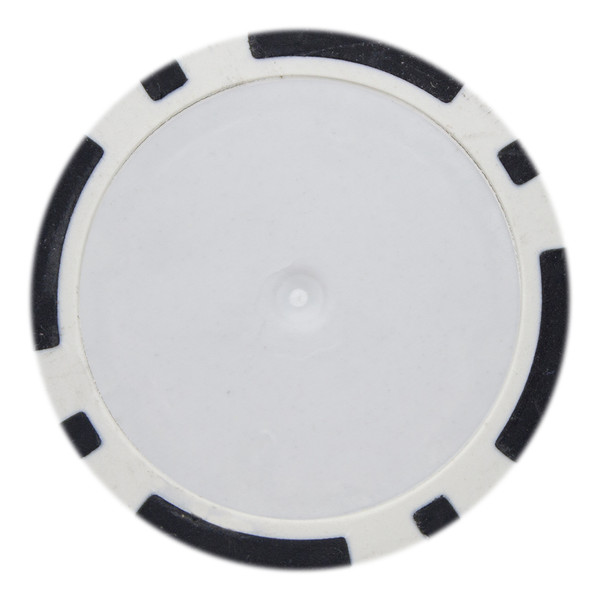14 Gram Classic 8 Stripe Poker Chips-Black