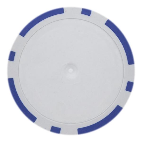 14 Gram Classic 8 Stripe Poker Chips-Blue