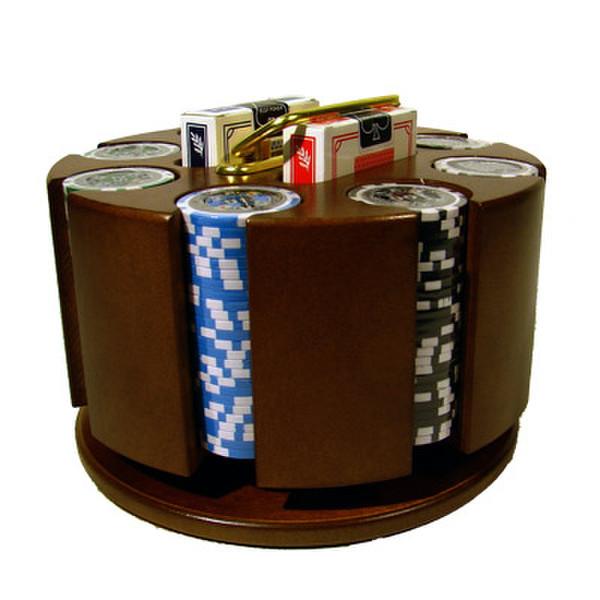 200 Black Diamond Poker Chip Set with Carousel