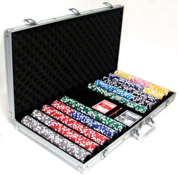 750 Ben Franklin Poker Chip Set with Aluminum Case