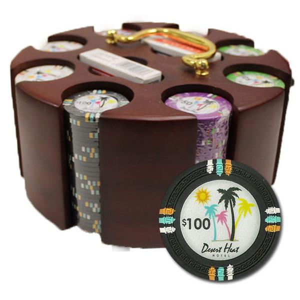 200 Desert Heat Poker Chip Set with Acrylic Tray