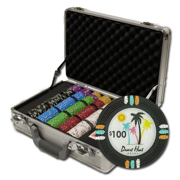 300 Desert Heat Poker Chip Set with Claysmith Case
