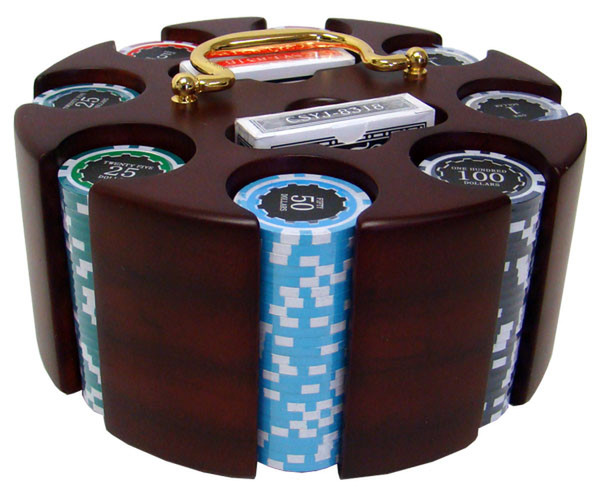 200 Eclipse Poker Chip Set with Carousel