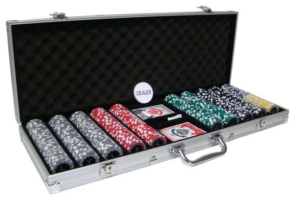500 Eclipse Poker Chip Set with Aluminum Case