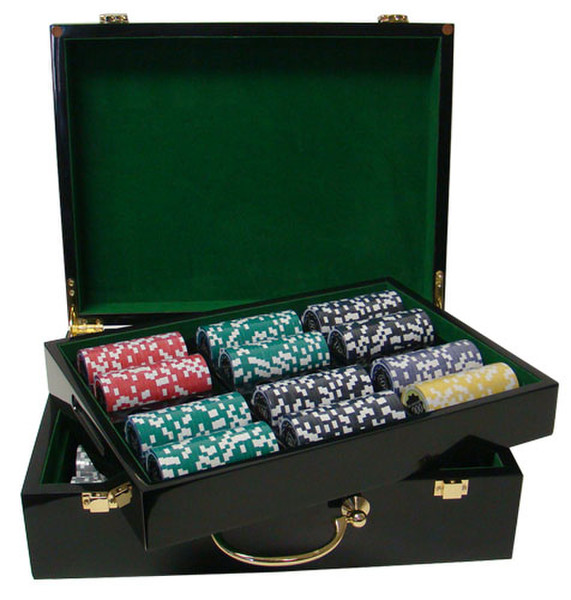 500 Eclipse Poker Chip Set with Hi Gloss Case
