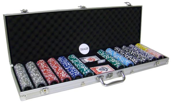 600 Eclipse Poker Chip Set with Aluminum Case