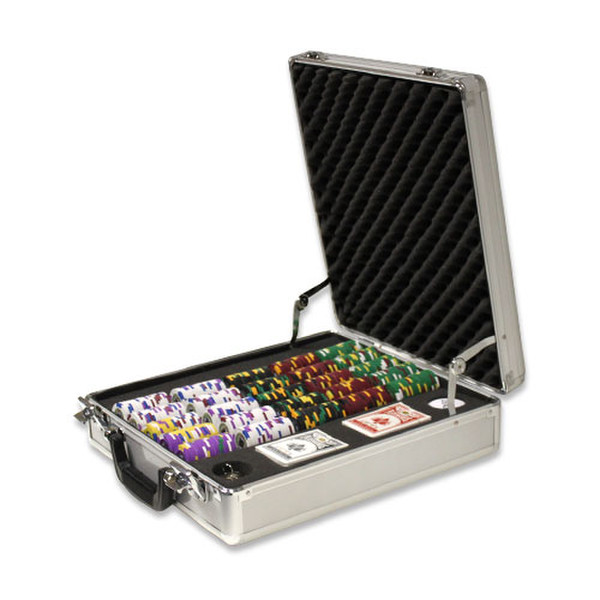 500 King's Casino Poker Chip Set with Claysmith Case