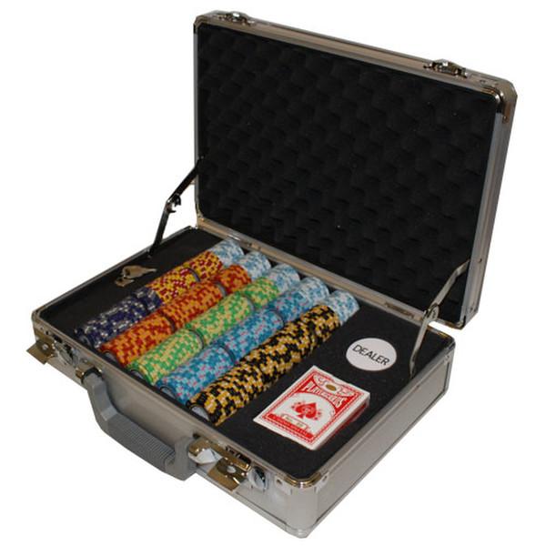 300 Monte Carlo Poker Chip Set with Claysmith Case