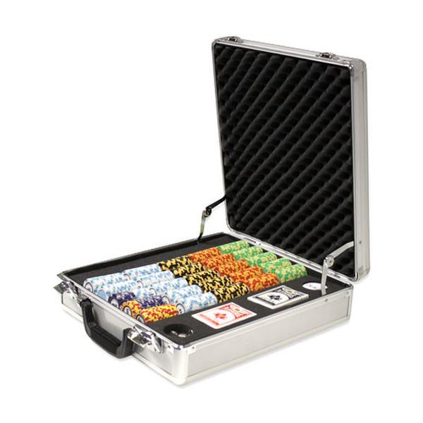 500 Monte Carlo Poker Chip Set with Claysmith Case