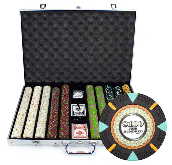 1,000 'The Mint' Poker Chip Set with Aluminum Case