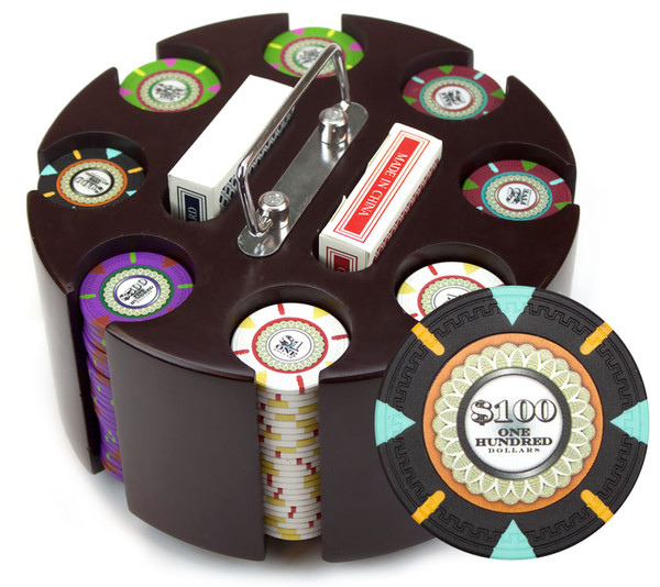 200 'The Mint' Poker Chip Set with Acrylic Tray