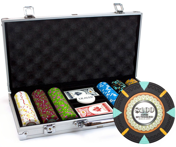 300 'The Mint' Poker Chip Set with Aluminum Case
