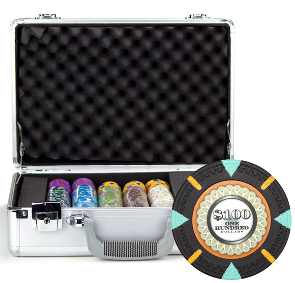 300 'The Mint' Poker Chip Set with Claysmith Case