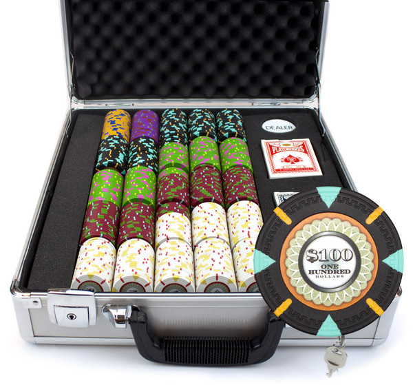 500 'The Mint' Poker Chip Set with Claysmith Case