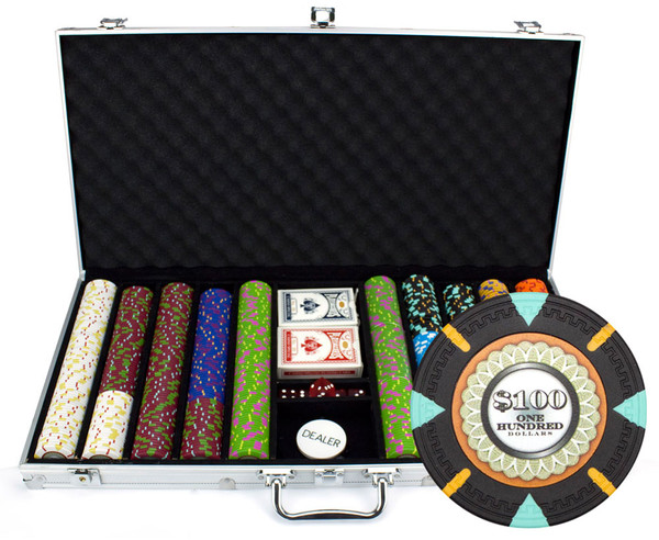 750 'The Mint' Poker Chip Set with Aluminum Case