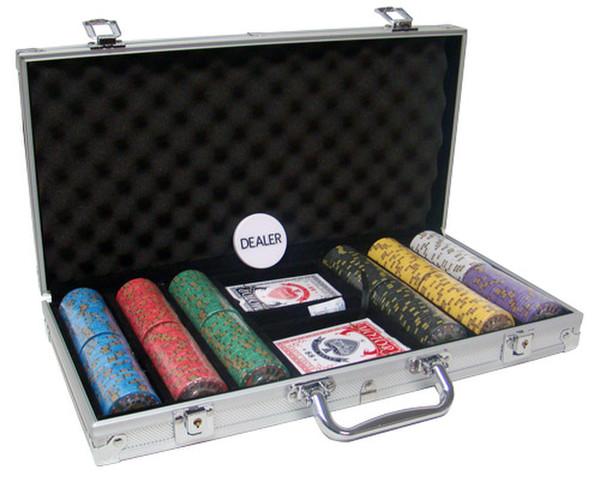 300 Chip Nevada Jack Poker Chip Set with Aluminum Case