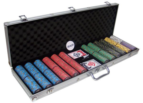 600 Nevada Jack Poker Chip Set with Aluminum Case