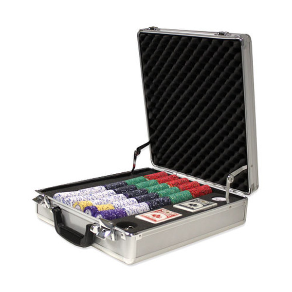 500 Scroll Poker Chip Set with Claysmith Case