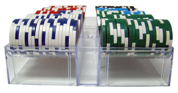 200 Tournament Pro Poker Chip Set with Carousel