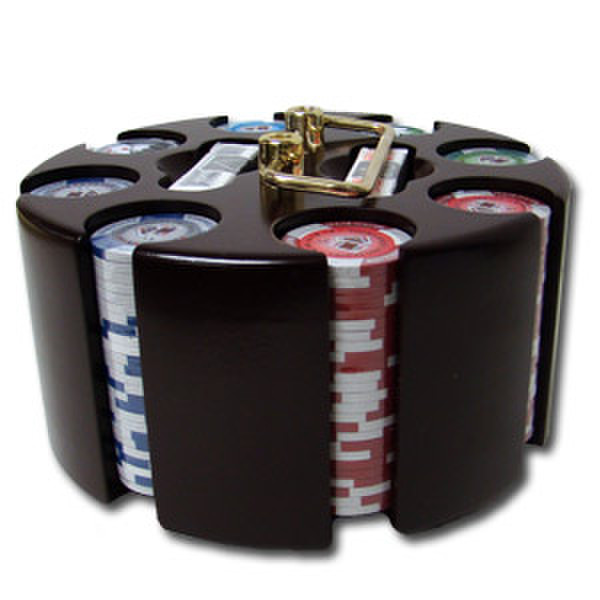 200 Tournament Pro Poker Chip Set with Acrylic Tray