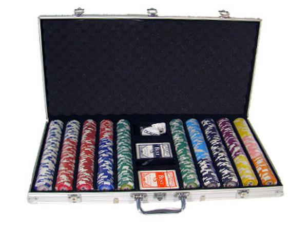 750 Tournament Pro Poker Chip Set with Aluminum Case