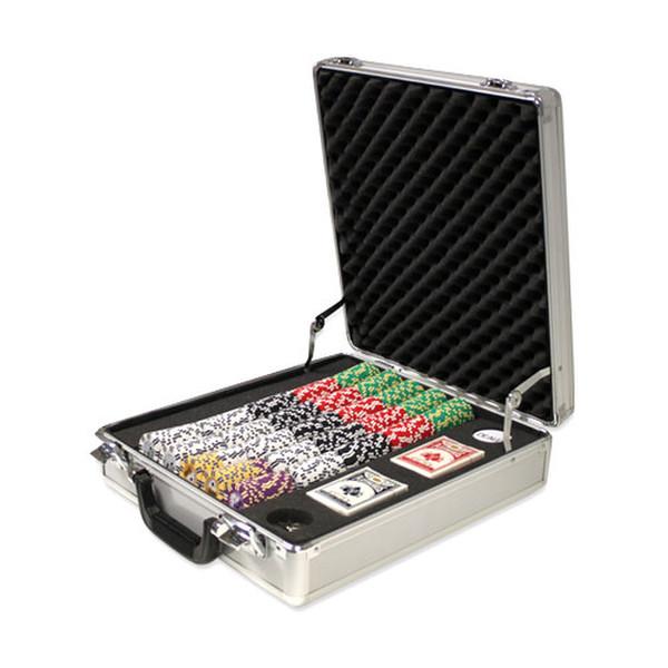 500 2 Stripe Twist Poker Chip Set with Claysmith Case