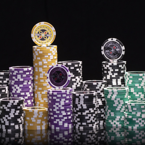 200 Ultimate Poker Chip Set with Carousel
