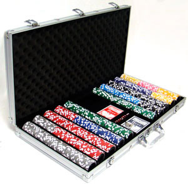 750 Ultimate Poker Chip Set with Aluminum Case