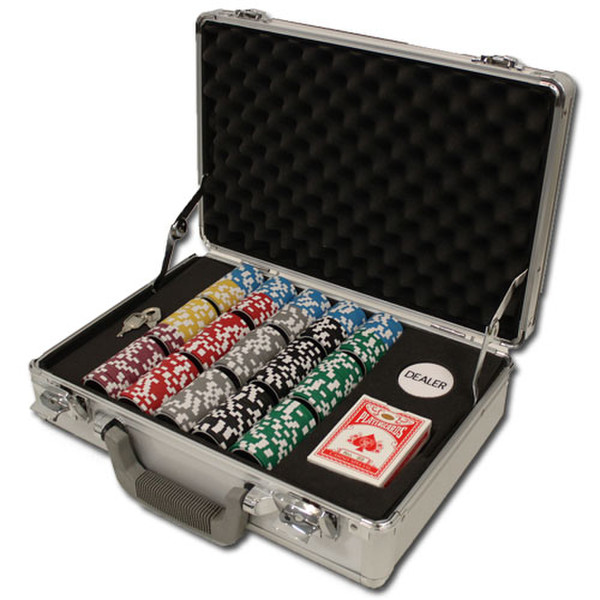 300 Yin Yang Poker Chip Set with Claysmith Case