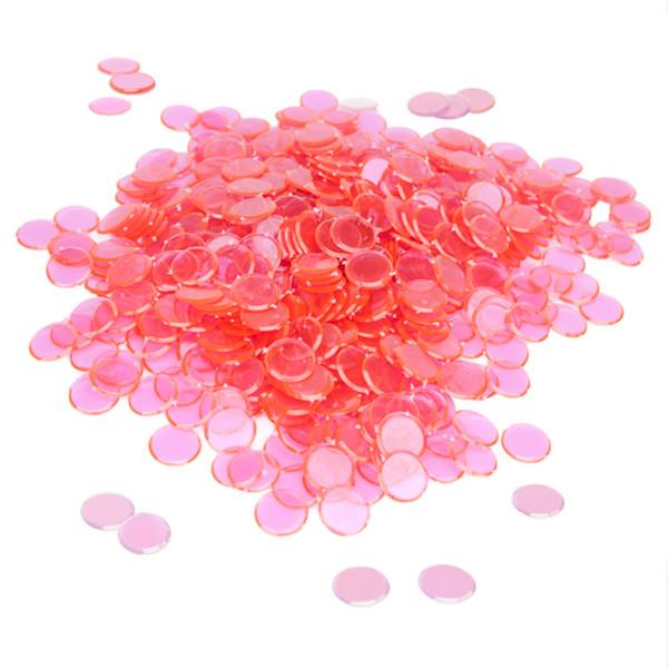300 Pack Pink Bingo Chips