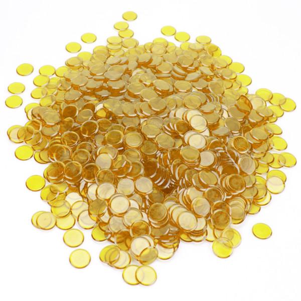 1000 Yellow Bingo Chips