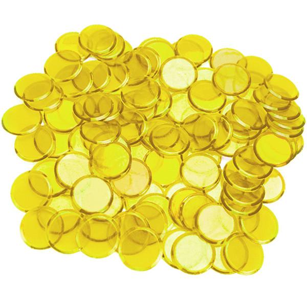 100 Yellow Bingo Chips