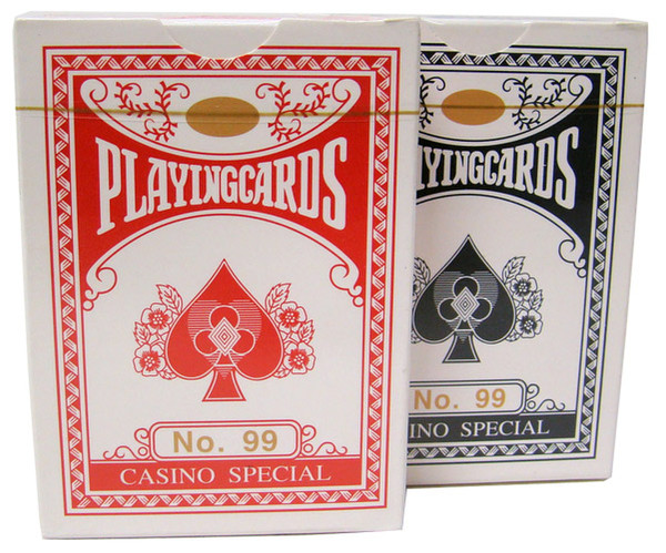 2 Decks of Wide Size, Regular-Index Playing Cards