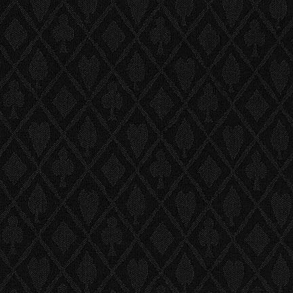 Black Suited Polyester Speed Cloth - 1 Foot section