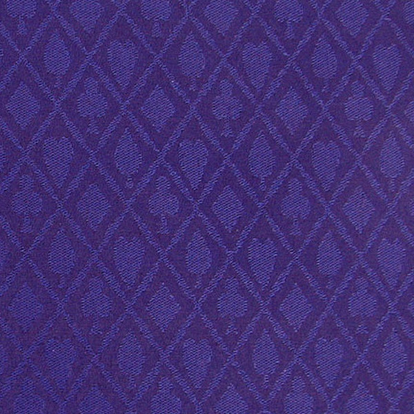 Blue Suited Cotton Speed Cloth - 1 Foot section