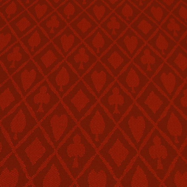 Red Suited Cotton Speed Cloth - 1 Foot section
