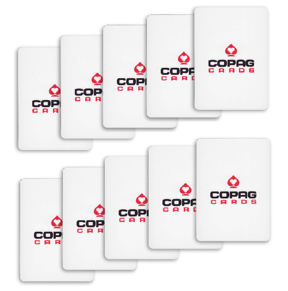 10 Copag Poker Size Cut Cards