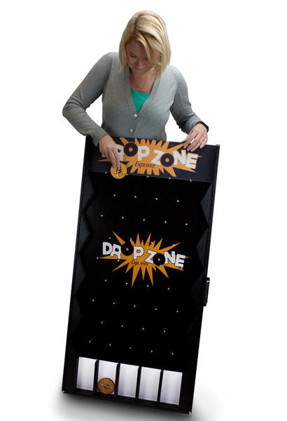 Drop Zone Express Customizable Plinko Style Board