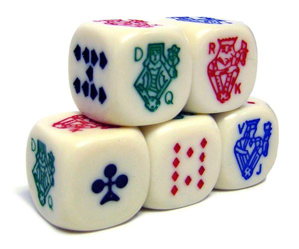25 Poker Dice