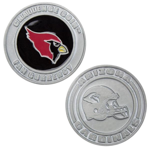 Challenge Coin Card Guard - Arizona Cardinals