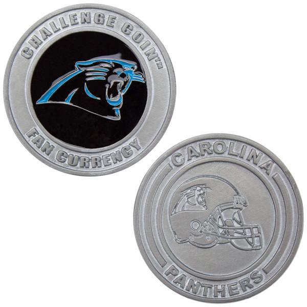 Challenge Coin Card Guard - Carolina Panthers