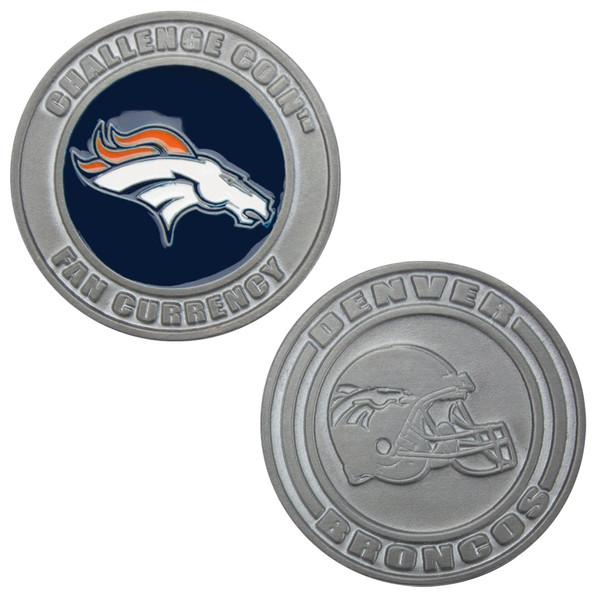Challenge Coin Card Guard - Denver Broncos