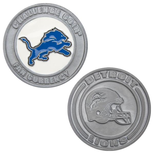 Challenge Coin Card Guard - Detroit Lions