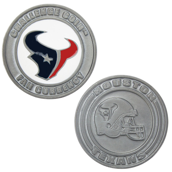 Challenge Coin Card Guard - Houston Texans