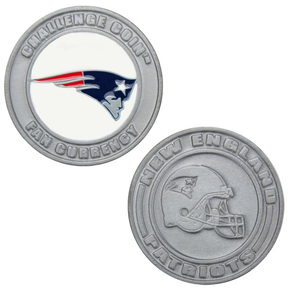 Challenge Coin Card Guard - New England Patriots