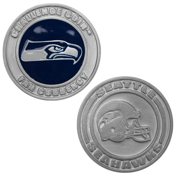 Challenge Coin Card Guard - Seattle Seahawks