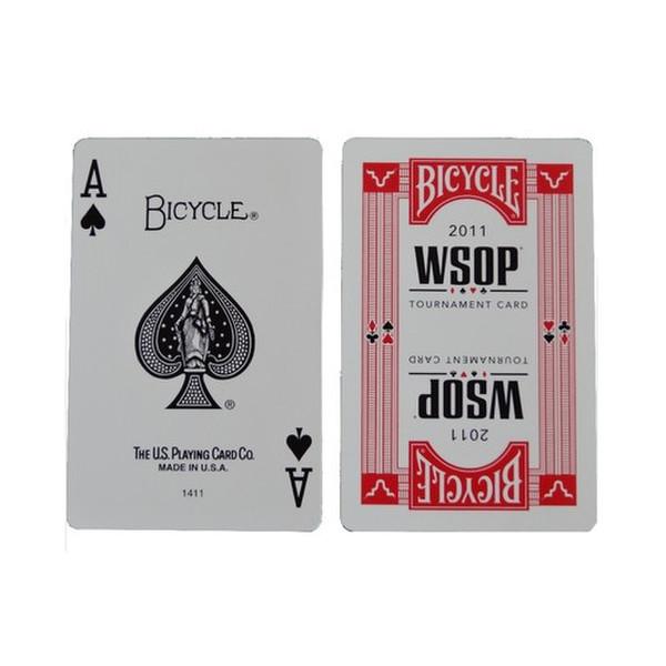 NIB: 2011 WSOP Bicycle/KEM Plastic Poker 2-Deck Card Set