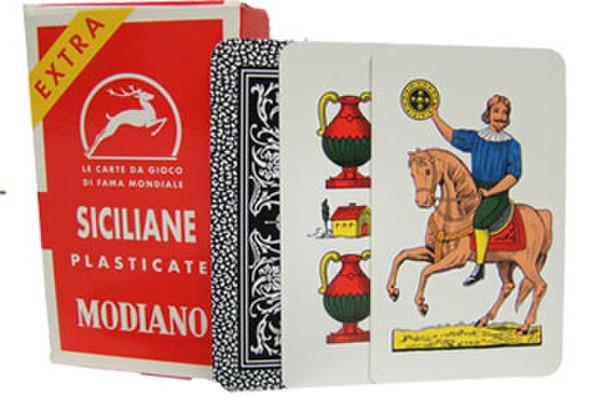 Siciliane N96 Italian Regional Playing Cards