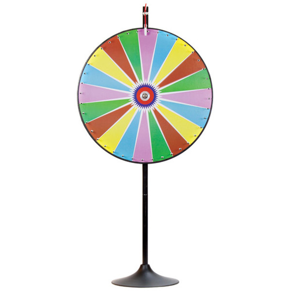 """36"""" Dry Erase Color Prize Wheel with Extension Base"""