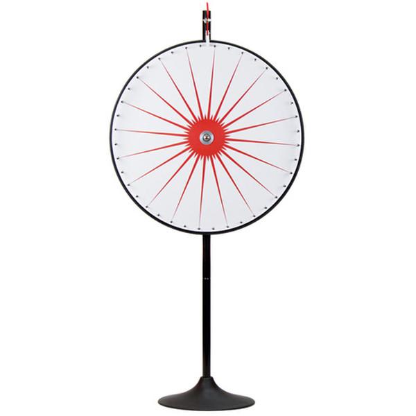 "36"" Custom Dry Erase White Prize Wheel with Extension Base"